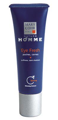 Eye fresh para hombres: contorno de ojos anti-bolsas y anti-ojeras. Mary Cohr http://www.tucosmetica.es/producto/eyes-fresh-homme/ #belleza #cosmetica