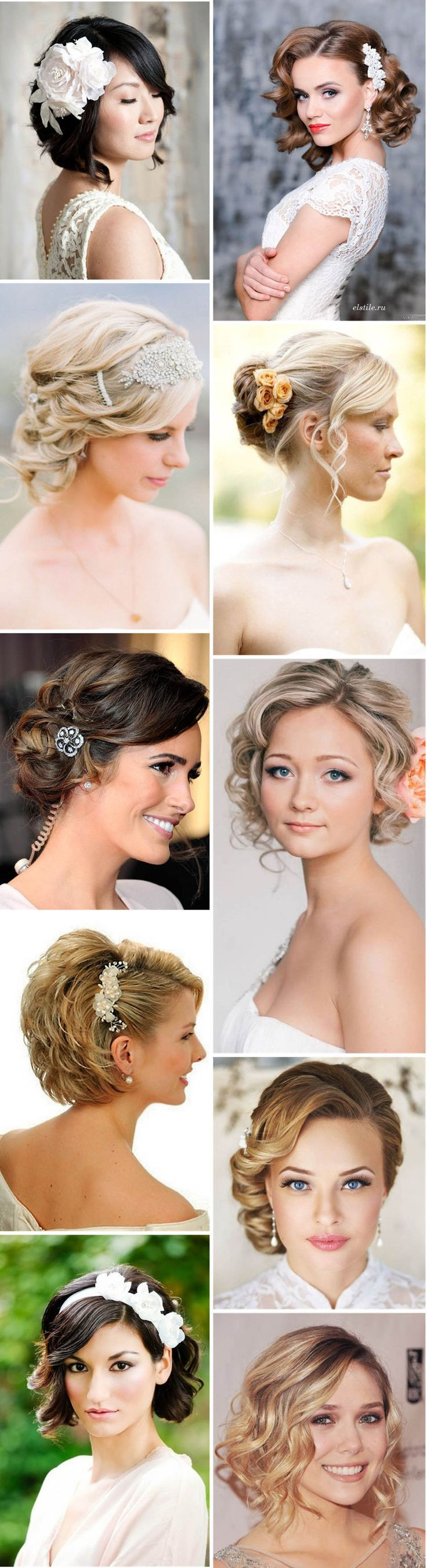 short hair styles wedding 1000 ideas about wedding hairstyles on 2926 | 1aac2dc475551c00b61e4c2aed2afc1f