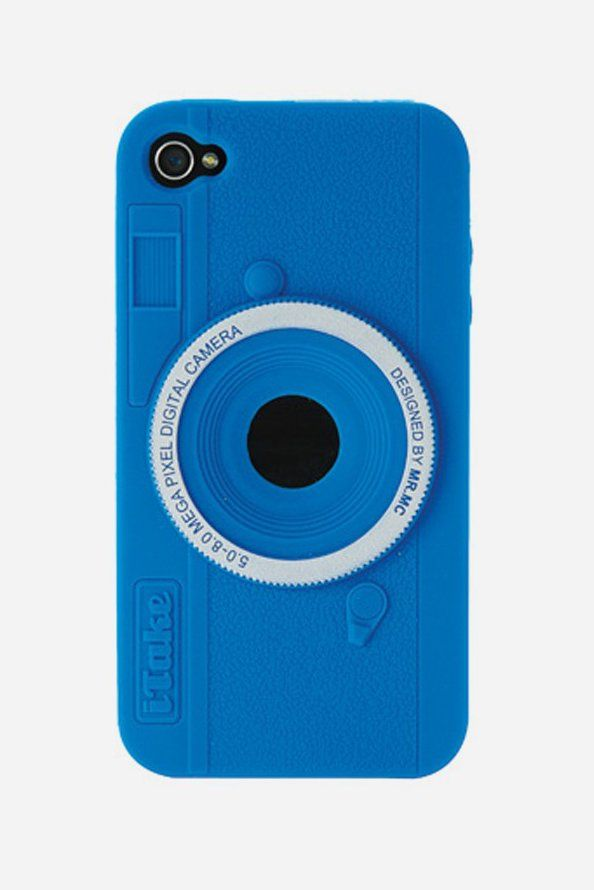 Remember the days of film cameras? When photos took a few days to get developed. When every shot counted. Retro Camera iPhone Case will fit the iPhone 4 or 4S and adorn it with the retro good looks of the analog age. The silicone case will help protect your phone from scratches and drops. http://www.zocko.com/z/JH8f8