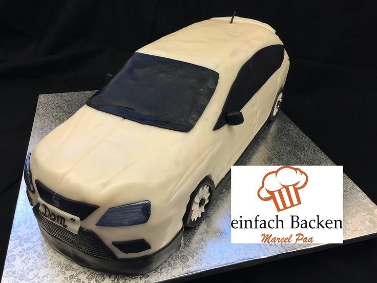 SEAT 3D Torte/Car Cake Tutorial/Anleitung mit Rezept - von einfachBacken...