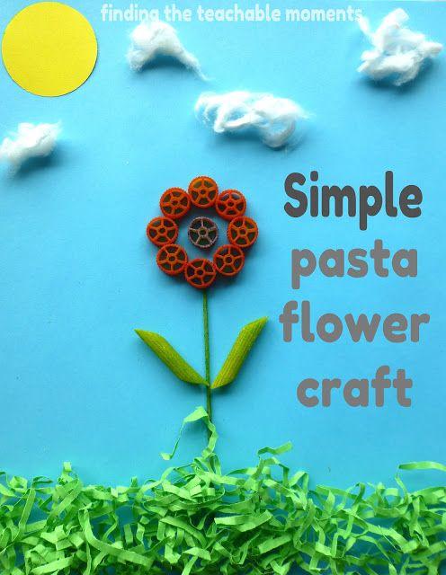 Simple flower craft