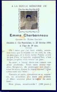 Emma Charbonneau