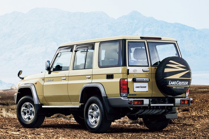 Toyota says its iconic 70 Series Land Cruiser will ramble on in Australia  Read more: http://www.digitaltrends.com/cars/2017-toyota-70-series-land-cruiser/#ixzz4JgwRuMsO  Follow us: @digitaltrends on Twitter | digitaltrendsftw on Facebook