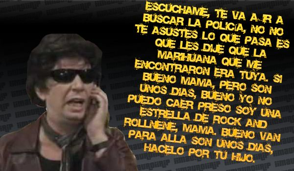 Pomelo llama a su mamá...