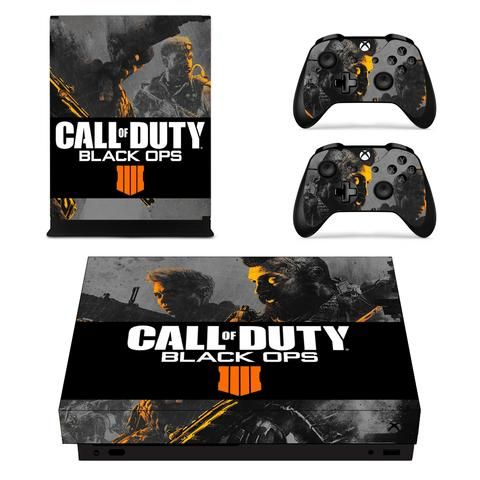 Call Of Duty Black Ops 4 Crash Battery Ruin Xbox One X Skin With