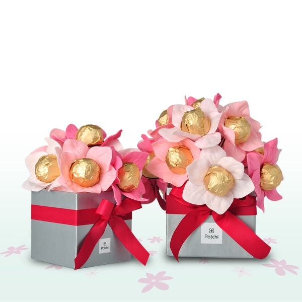 Patchi's chocolate flower bouquet from the Mother's Day Collection 2012