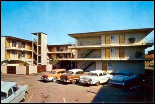 1955 motel prices are sky high @$2.00 a night!  Rediculous!
