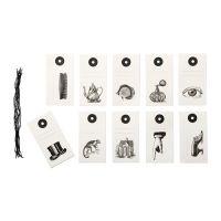 HISTORISK Gift tags, assorted models