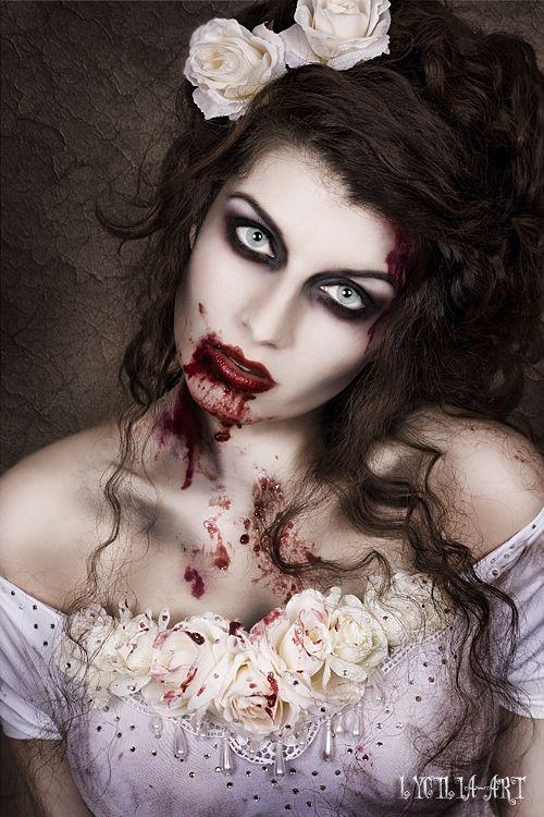 model-la-esmeralda:  Zombie Bride <3Photos: Lycilia-ArtModel, hair & make-up, outfit: me