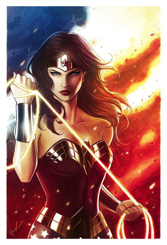 Wonder Woman by Protokitty.deviantart.com on @DeviantArt - More at https://pinterest.com/supergirlsart/