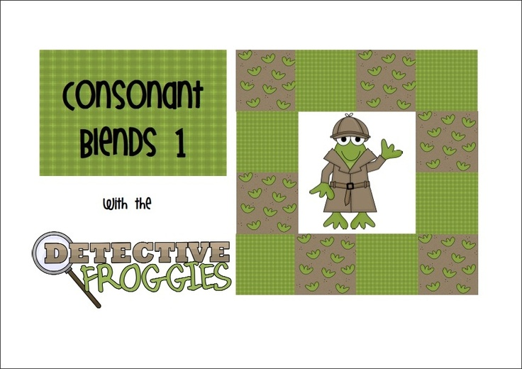 FREE Consonant Blends 1. 10 page file that deals with consonant blends. In particular this set looks at the blends - bl, cl, and fl.    Inside you'll find a collective word bank, 2 worksheets where each child can fill in the missing consonant blends, 3 cut apart pages with the blend and endings for children to make words with plus worksheets for recording all the words that they make.
