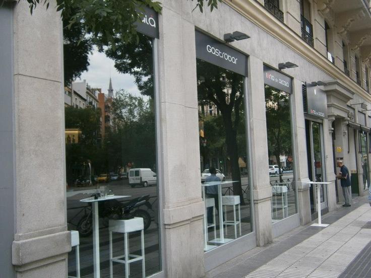 La espectacular cristalera a la calle Alcalá de Madrid