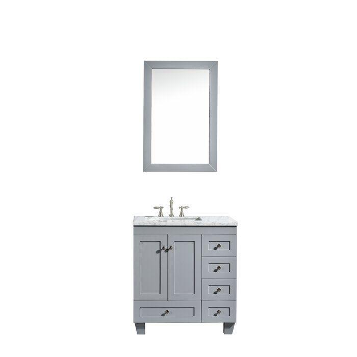 Lauder 31 Single Bathroom Vanity Reviews Allmodern Bathroom Vanity Marble Vanity Tops 30 Inch Bathroom Vanity