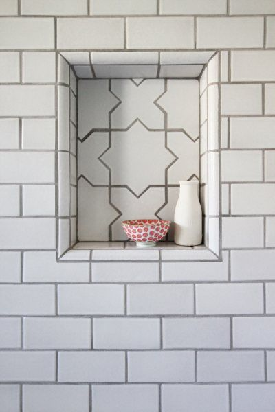 46 best Tile Niche Ideas images on Pinterest | Fireclay tile ...