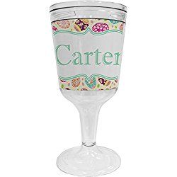 Easter Eggs Wine Tumbler (Personalized)