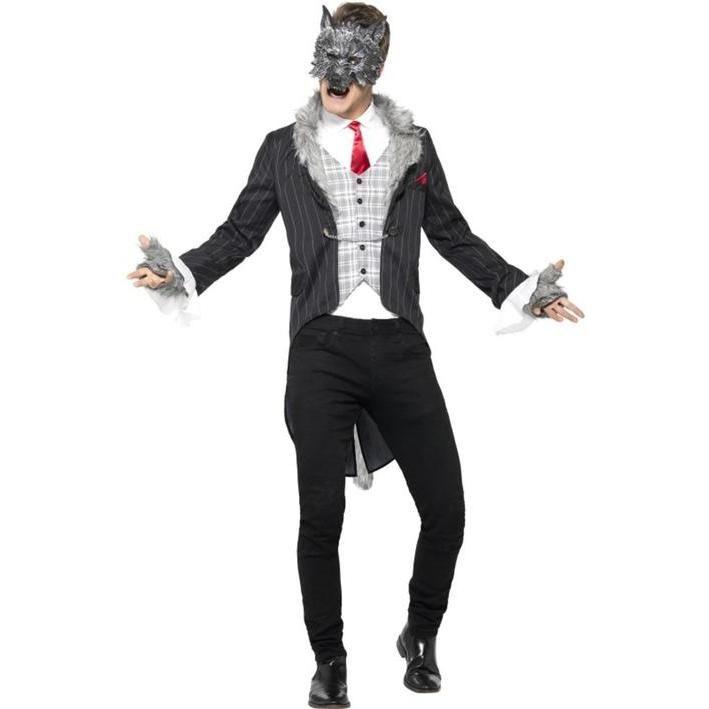 Disfraz de hombre lobo elegante para hombre