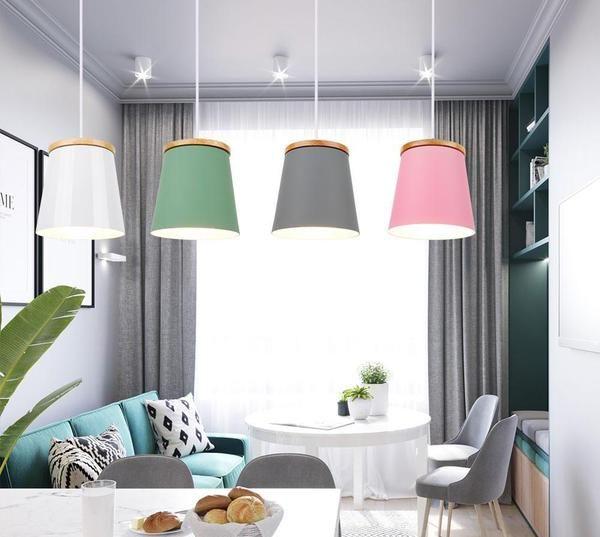 Modern Nordic Drop Down Lamp Light