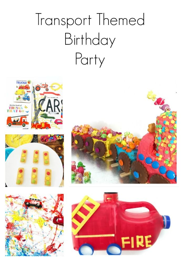 Do you have a child obsessed with transport? Here are some transport themed party ideas.