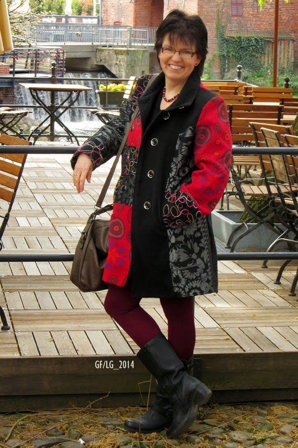 Spectacular Mantel TE Hamburg Strumpfhose nur die Stiefel G rtz Shoes Tasche No Name