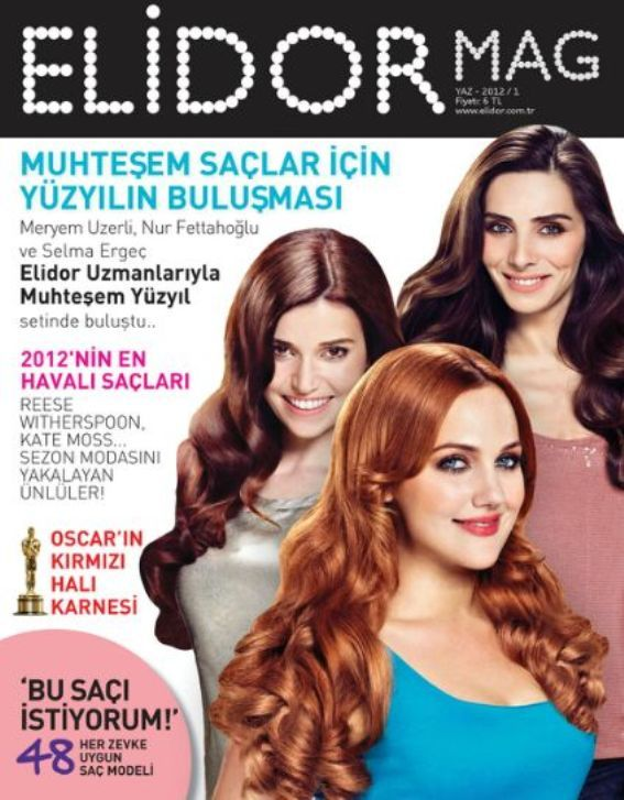 Meryem Uzerli for Elidor Mag Magazine (Turkey), June 2012