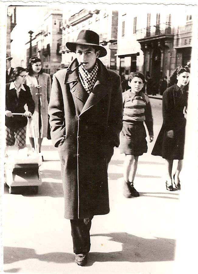 Young Italian in Rome, 1950's