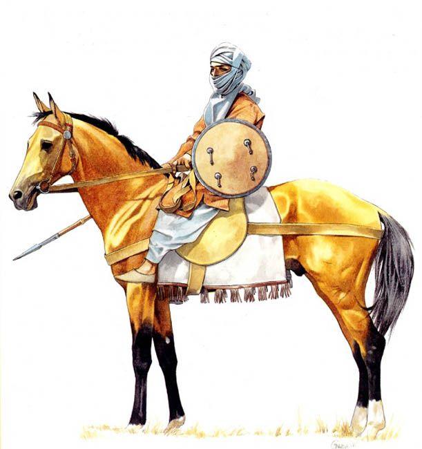 Arab (Andalusian) light horseman, X century