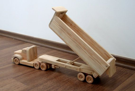 Hey, I found this really awesome Etsy listing at https://www.etsy.com/listing/155000973/daphne-the-dump-truck-a-wooden-toy-with