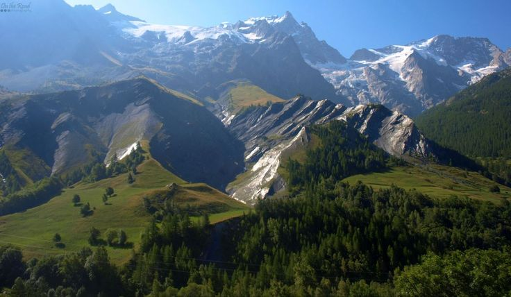The perfect French Alps covered in snow, in the middle of August. There's nothing like it.