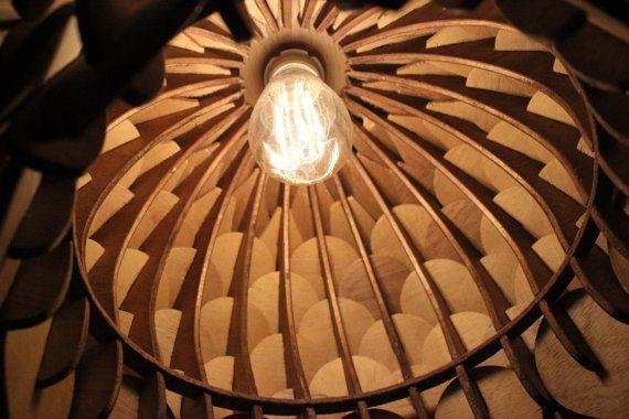 Spore Lamp  Laser Cut Pendant Lamp Lighting