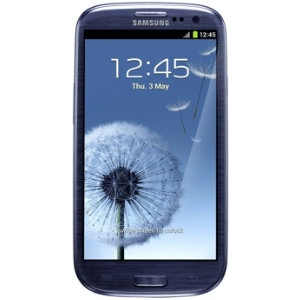 Samsung Galaxy S3 I9300 smarttelefon (blå)