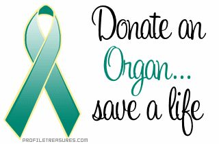 In memory of Mona... become an organ donor and save a life. <3
