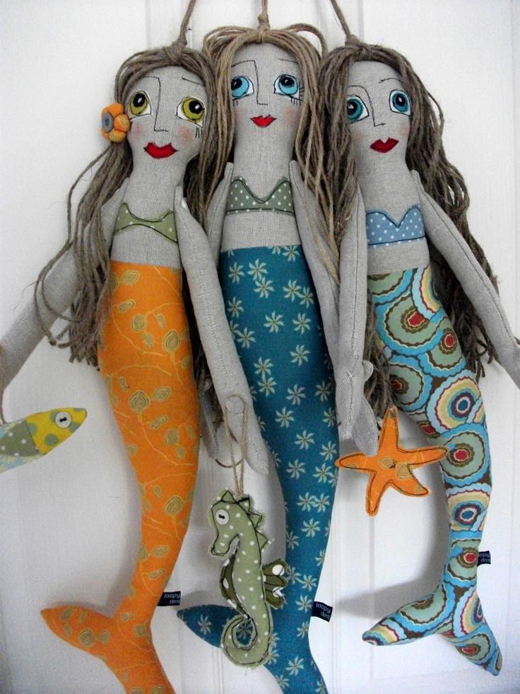 Tall mermaids....