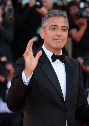 classic-dress-suit  wedding George Clooney