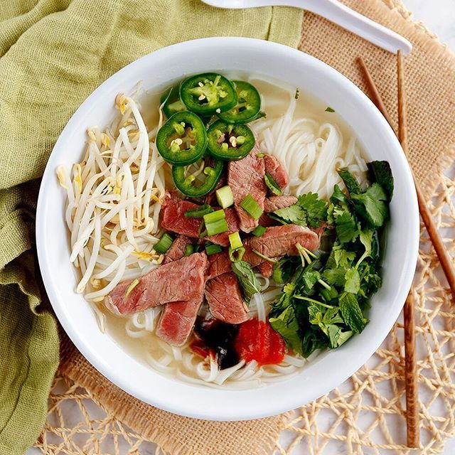 It's a good day for a big bowl of pho...