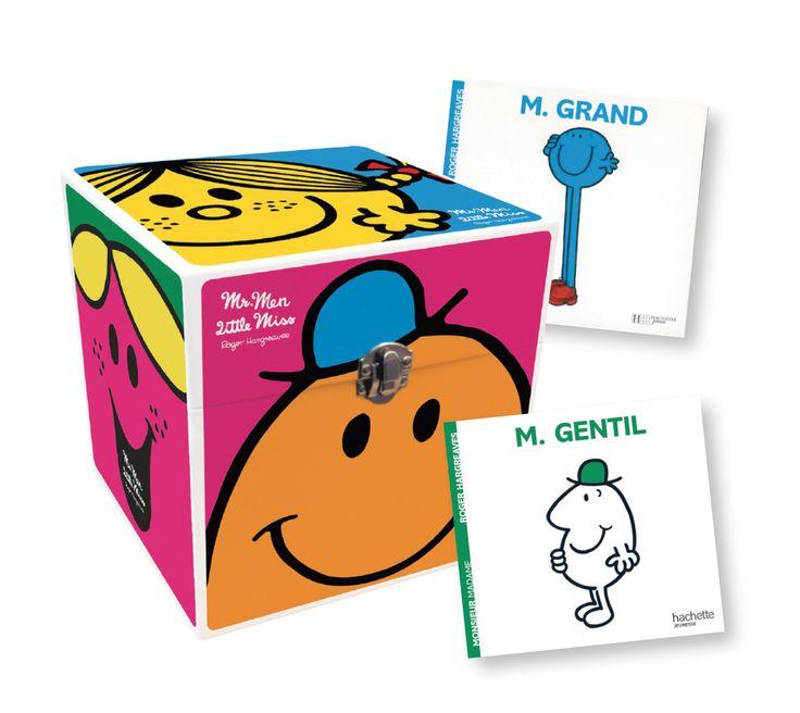 Boîte Monsieur Madame - Roger Hargreaves - Coffret de 7 livres de 40 pages chacun. Couvertures souples. Illustrations en couleurs. -   Age : 4 ans et + -   Référence : 10027700 #Histoire #Livre #Enfant #Petits #Conte #Apprendre #Cadeau #Vacances