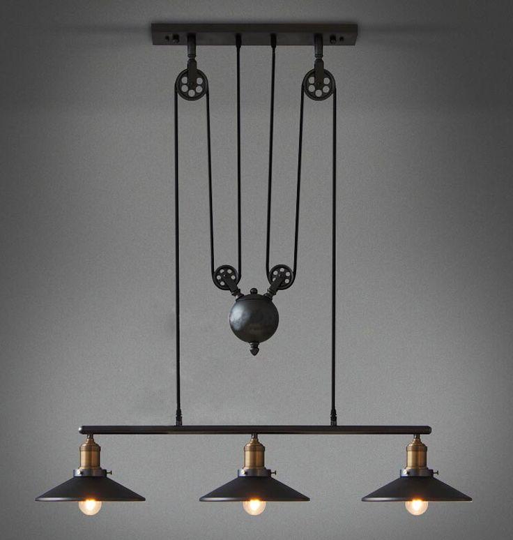 Les 25 meilleures id es concernant lampes suspendues industrielles sur pinter - Eclairage loft industriel ...
