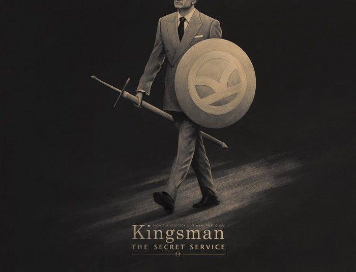 Kingsman: The Secret Service poster by Mirco Zett