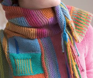 color on color scarf: Fabulous Color On Color, Colorful Scarves, Color Scarves, Color On Color Scarfs