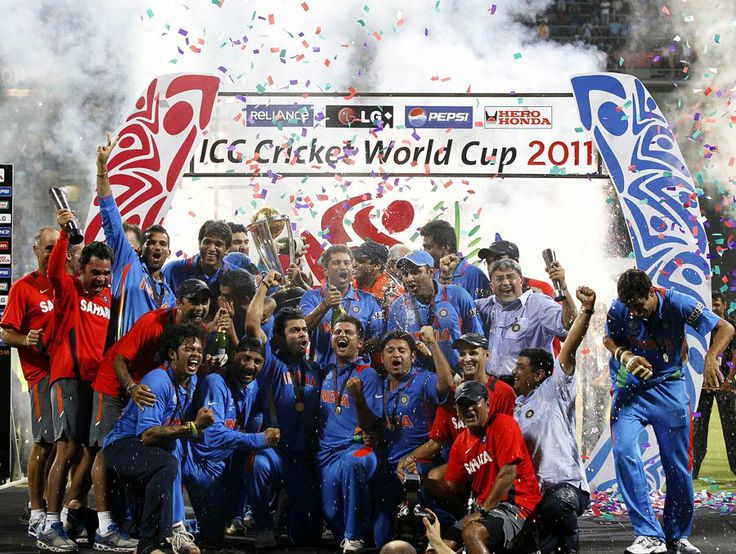 Reliving the #CricketWorldCup 2011 through the lens