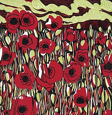 'Poppies' by Jane Walker (L031)
