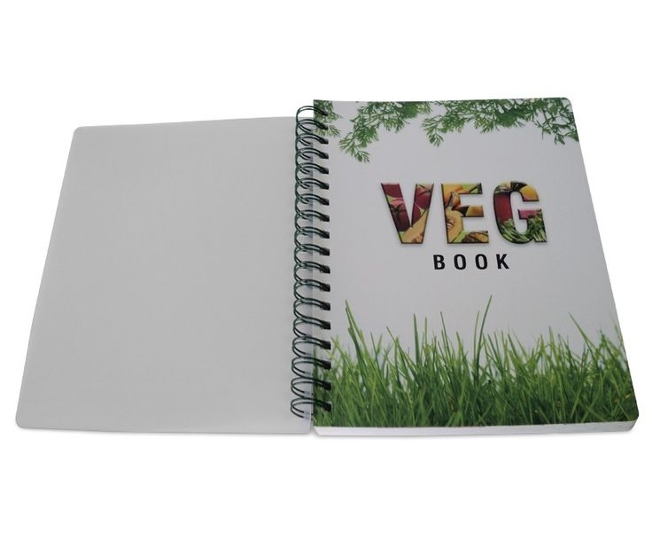 Veg Book journals in STD size comes with decorative PP sheets and inserts with details on vegetarianism. Buy journal online at Nightingale store at best prices.