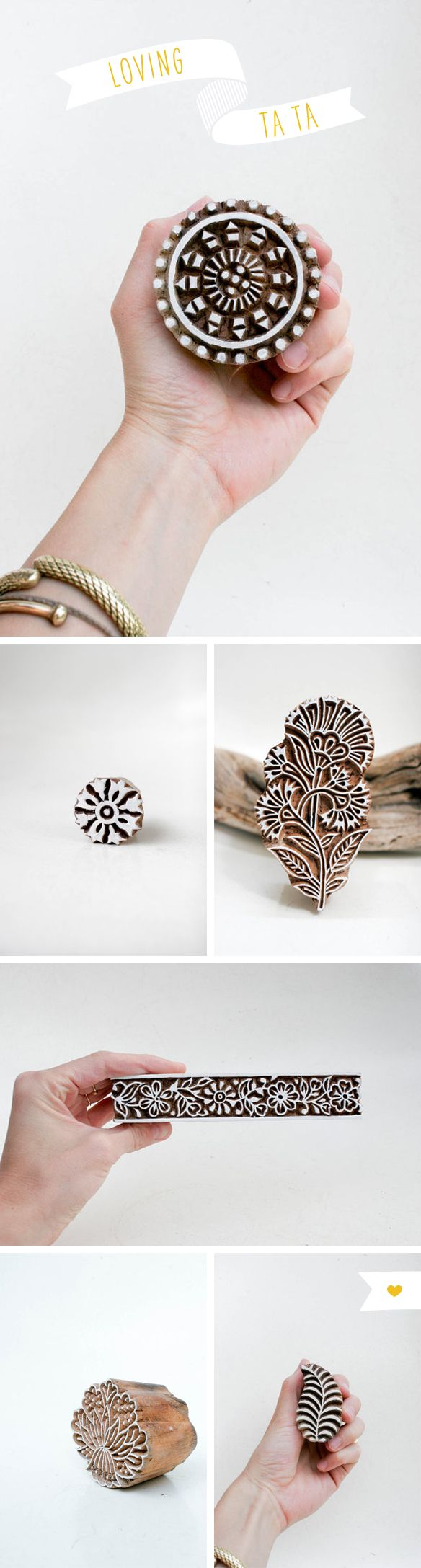 Oh I LOVE this indian block printing!! its amazing, would love to try it.