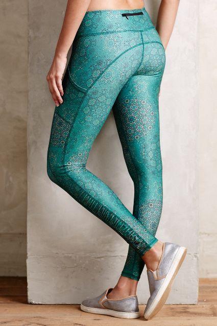 Pure + Good Florataupe Leggings