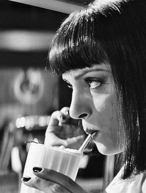 Pulp Fiction   Mia: Don't you hate that?  Vincent: What?  Mia: Uncomfortable silences. Why do we feel it's necessary to yak about bullshit in order to be comfortable?  Vincent: I don't know. That's a good question.  Mia: That's when you know you've found somebody special. When you can just shut the fuck up for a minute and comfortably enjoy the silence.
