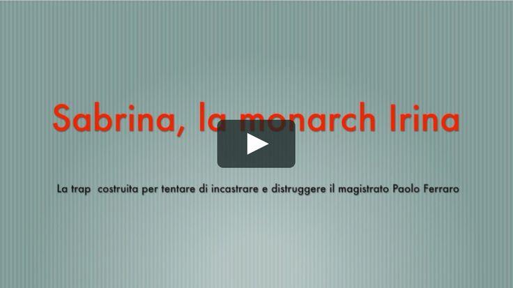 """151. Sabrina la monarch """"Irina"""". La trap destinata al magistrato Paolo Ferraro at http://ift.tt/2hJFaXj caricato il January 02 2017 at 08:54AM"""