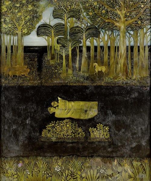 Suad al Attar, Garden of Eden, 1993