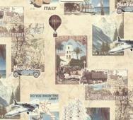 Обои 45-039-02 ART, ART, Vintage travel deluxe, Россия 1170