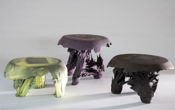 Furniture made with magnetism