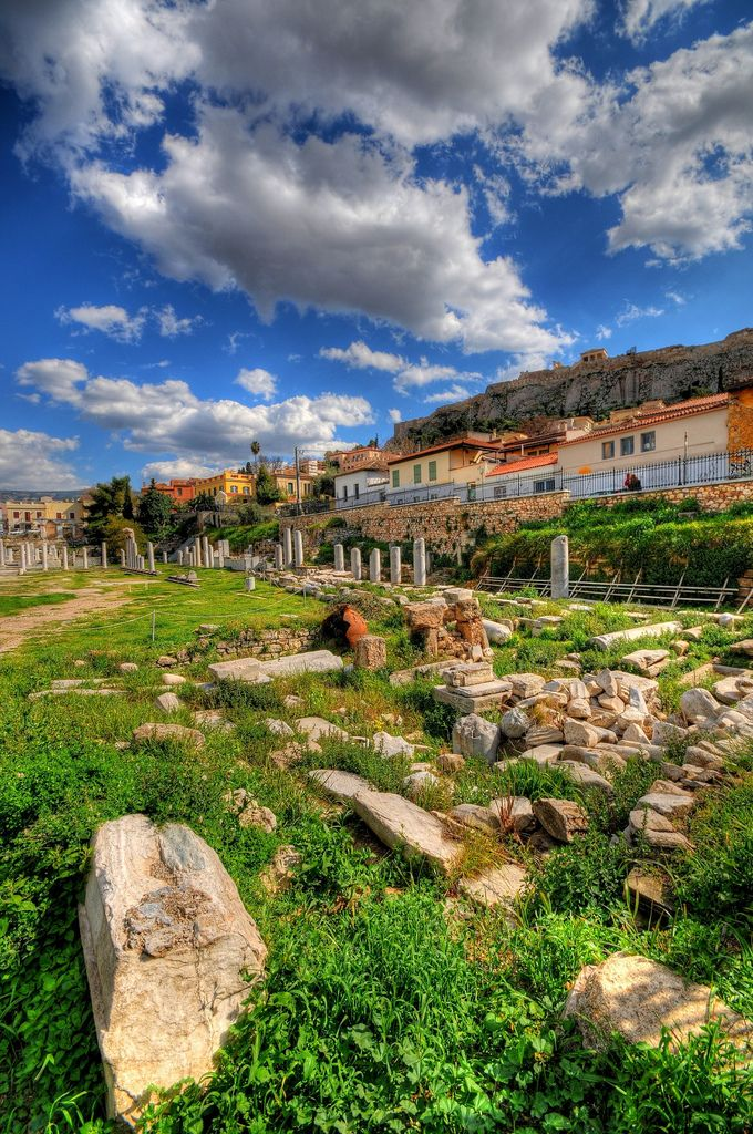 Roman Forum in Athens, Greece