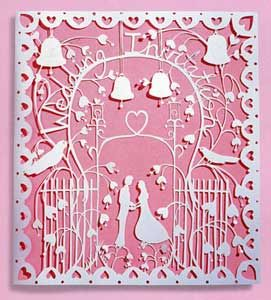 Rob Ryan Wedding Paper Cut Out
